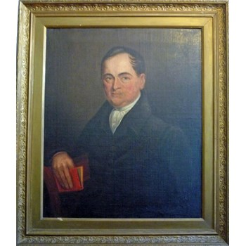 English 19th Century Oil Painting of an Unknown Gentleman