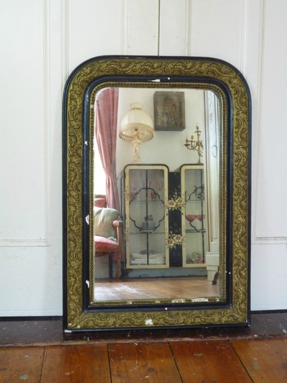 French Antique Louis Philippe Style Mirror The Antique