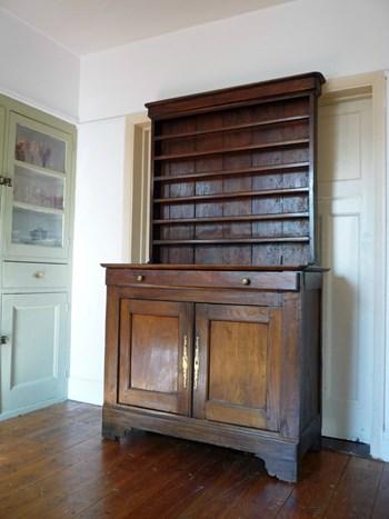 Authentic Antique Oak Vaisselier/French Provincial Dresser