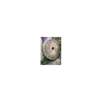 C19th century Sandstone millstone