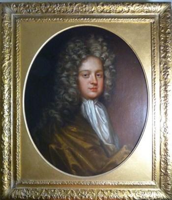 Portrait of John Robinson of Denston Hall, Suffolk c.1700; Circle of Sir Godfrey Kneller