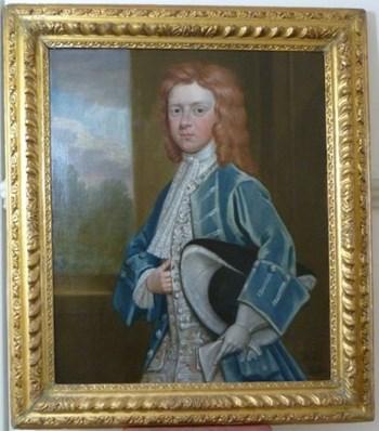 Portrait of Thomas Lee c.1720; by A.R. Whytton.
