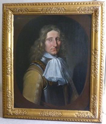 Portrait of a Gentleman 1666, Attributed to Samuel van Hoogstraten.
