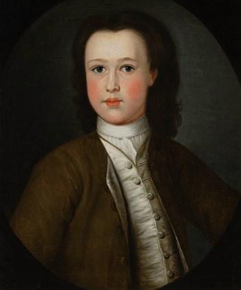 Portrait of a Boy of the Crawley-Boevey Family of Flaxley Abbey (?) c.1780; English School.