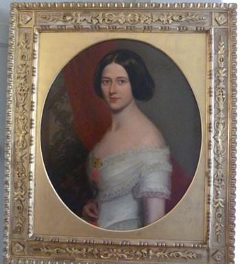 Portrait of a Lady c.1840; Follower of Richard Buckner.