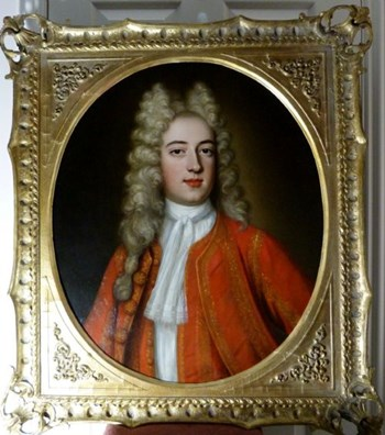Portrait of William McLennon c.1710: Attributed to John Scougall.