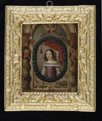 Portrait of a Young Noblewoman c.1640; Iberian School.