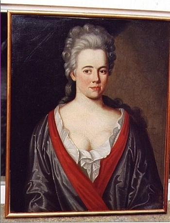 Portrait of a Cornish Lady c.1730; English School.