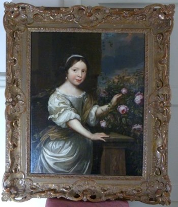 Portrait of a Young Girl c.1675; Circle of Nicholas Maes.