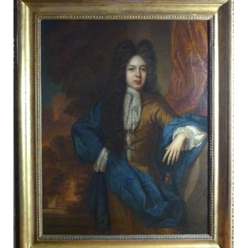 Portrait of a Young Gentleman c.1685; Attributed to Johann Kerseboom.