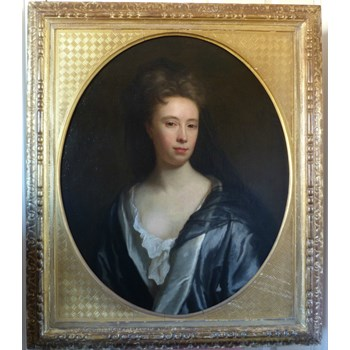 Portrait of Anne Keck c.1715; Attributed to Jonathan Richardson.