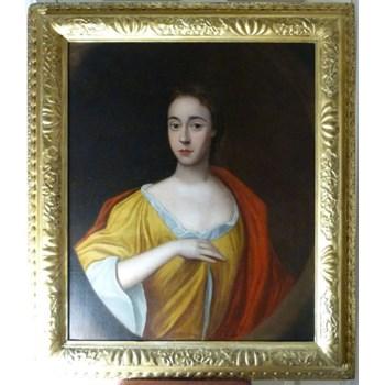 Portrait of a Lady c.1700; Follower of Sir Godfrey Kneller.