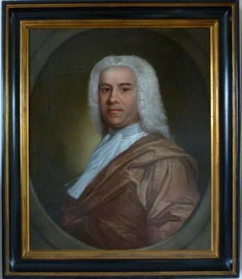 Portrait of a Gentleman c.1750: Attributed to Andrea Soldi.
