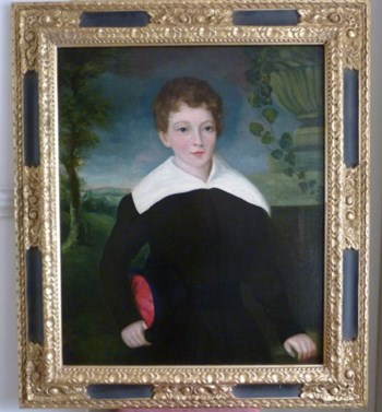 Portrait of a young Boy, early 19th century; English School