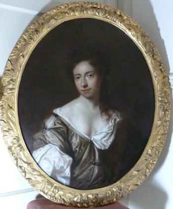 Portrait of Lady Elizabeth Felton (?). c. 1680; Studio or Circle of Sir Peter Lely.