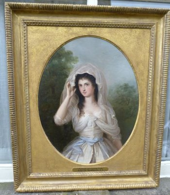 Portrait of a Young Lady c.1770; Attributed to Angelica Kauffman