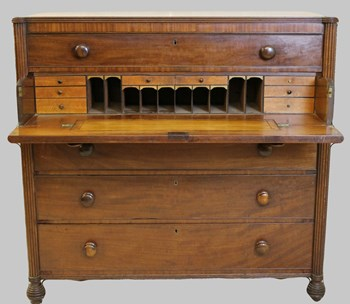 Georgian Secretaire Chest