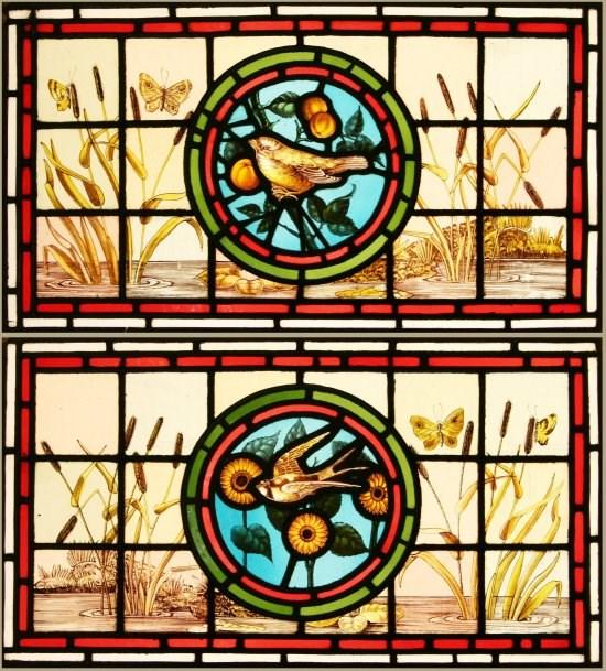 Victorian Transom Windows.
