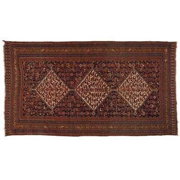 Antique Persian Khamseh - Oriental rug