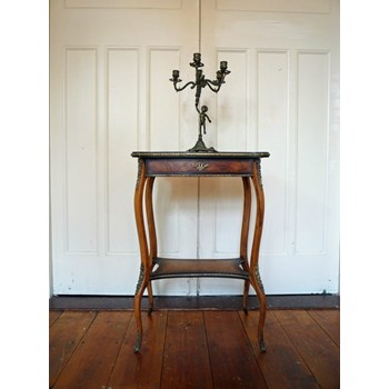 French Antique Empire Style Ladies Table