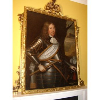 FINE LATE 17TH CENTURY OIL PORTRAIT PAINTING OF DAVID 2nd EARL WEMYSS.