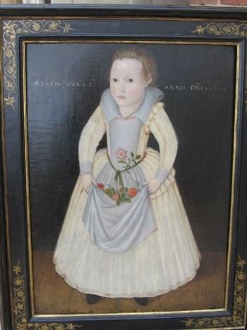 Portrait of Elizabeth Wandesford 1608; English School