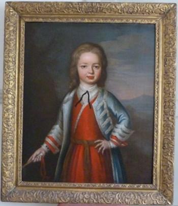 Portrait of a Young Boy 1711, by John Verelst.
