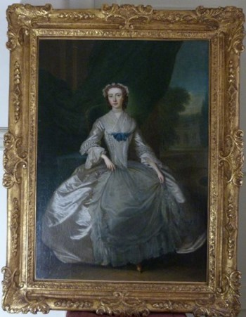 Portrait of a Young Lady c.1735; Circle of Charles Philips.