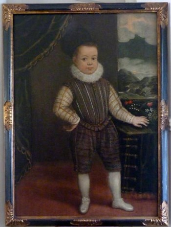 Portrait of Young Boy c.1620: Italian School.