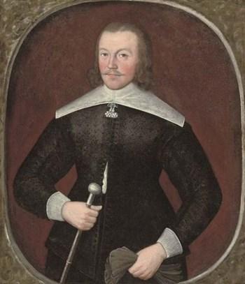Portrait of a Gentleman c.1640; Circle of Cornelius Johnson