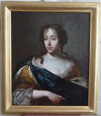 Portrait of a Lady c.1675; Circle of Sir Peter Lely.