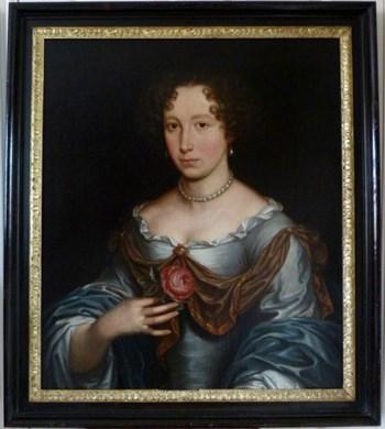 Portrait of a Lady c.1680; Circle of John Michael Wright.