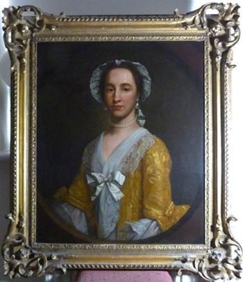 Portrait of Johanna Warner 1753 by Francis Milner Newton R.A.