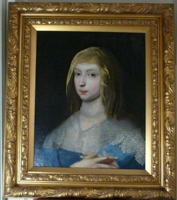 Portrait of a Lady c.1635; Attributed to George Jamesone.