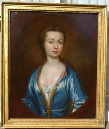 Portrait of Dorothy, Lady Townshend c.1710; Attributed to Charles Jervas