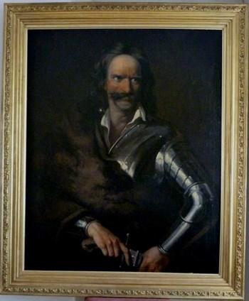 Portrait of Francis I Rakoczi, early 19th century Continental School.