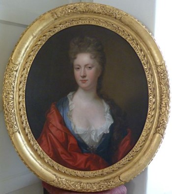 Portrait of a lady c.1695, by Thomas Murray.