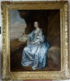 Portrait of Lady Mary Villiers 17th c., after van Dyck.