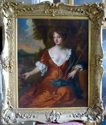 Portrait of Louise de Keroualle, Duchess of Portsmouth c.1671; by Mary Beale.