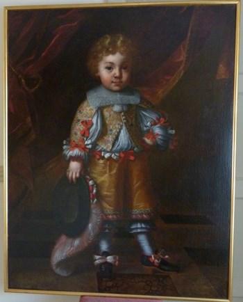 Portrait of a Young Italian Aristocratic Boy c.1630; Circle of Tiberio di Tito.