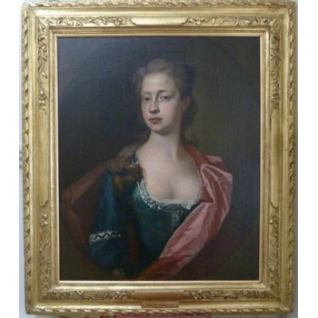 Portrait of a Lady c.1710; Circle of Sir Godfrey Kneller.