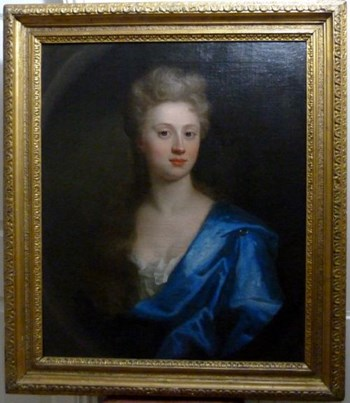 Portrait of Mary Hume c.1735; Attributed to Thomas Murray