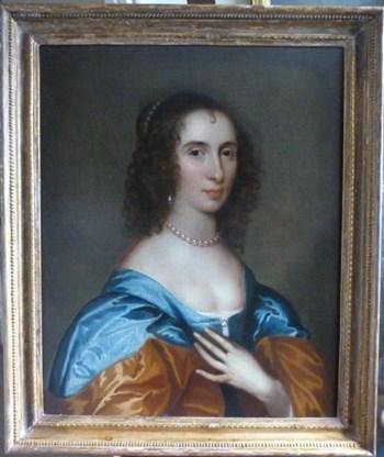 Portrait of Bridget Reade c. 1635; Follower of Sir Anthony van Dyck.