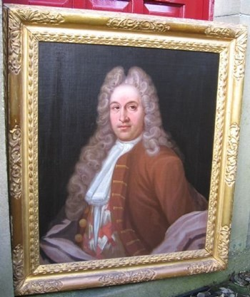 Portrait of Gervais Nevile c.1720; attributed to Jonathan Richardson Snr