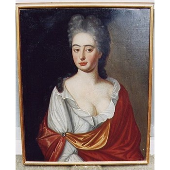 Portrait of a Cornish Lady c.1730; English School