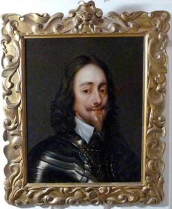 Portrait of Charles I c.1640; Attributed to Remigius van Leemput.
