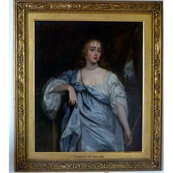 Portrait of Mary Bagot, Countess of Falmouth and Dorset; after Lely.