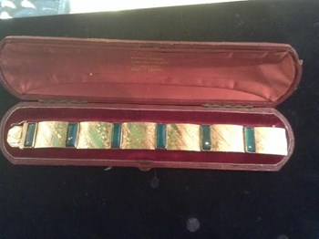 Art Deco bracelet.