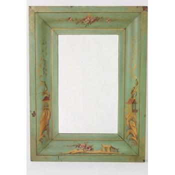 Antique Edwardian Chinoiserie Mirror
