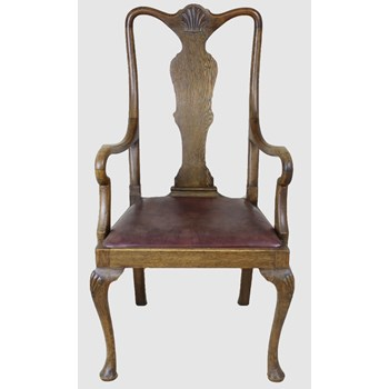 Edwardian Splat Back Armchair
